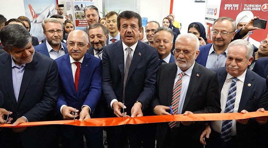 İlk ticaret merkezi İran'da açıldı