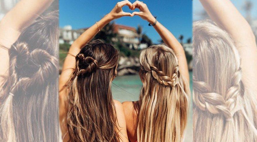 Plaj saçlarında doğallık rüzgarı