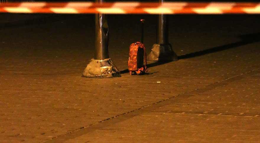İstanbul'da şüpheli çanta alarmı