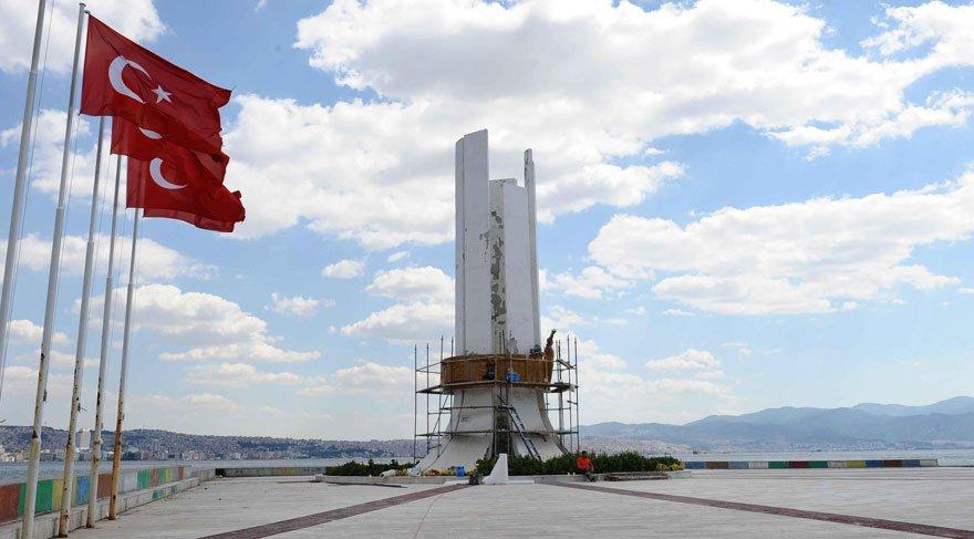 Karşıyaka'daki anıt için yürütmeyi durdurma talebine ret
