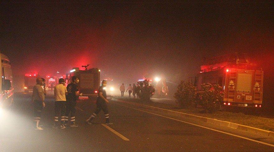 Tanker patladı 3 ölü bir kız çocuğu kayıp