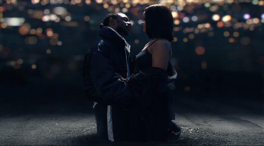Rihanna ve Kendrick Lamar'dan Bonnie ve Clyde klibi!