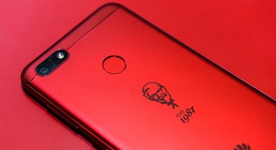 Huawei KFC için akıllı telefon üretti