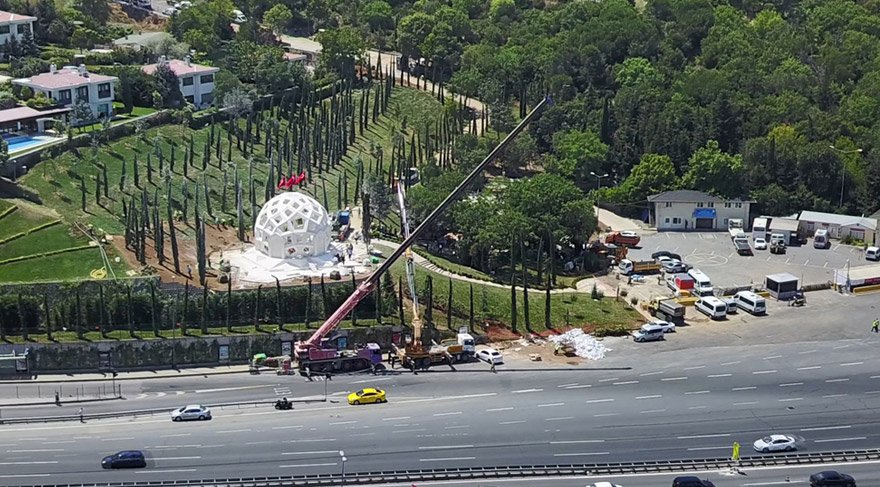 15 Temmuz Şehitler Köprüsü törenlere hazırlanıyor