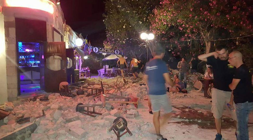 Ege depreminde ölen 2 kişiden birisi Türk çıktı!