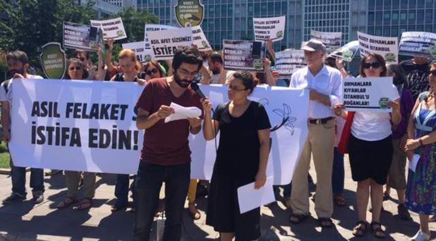 Kuzey Ormanları Savunması, Kadir Topbaş'ı istifaya çağırdı