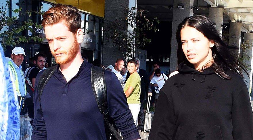 Adriana Lima, Türk yazar Metin Hara ile birlikte (Metin Hara kimdir?)
