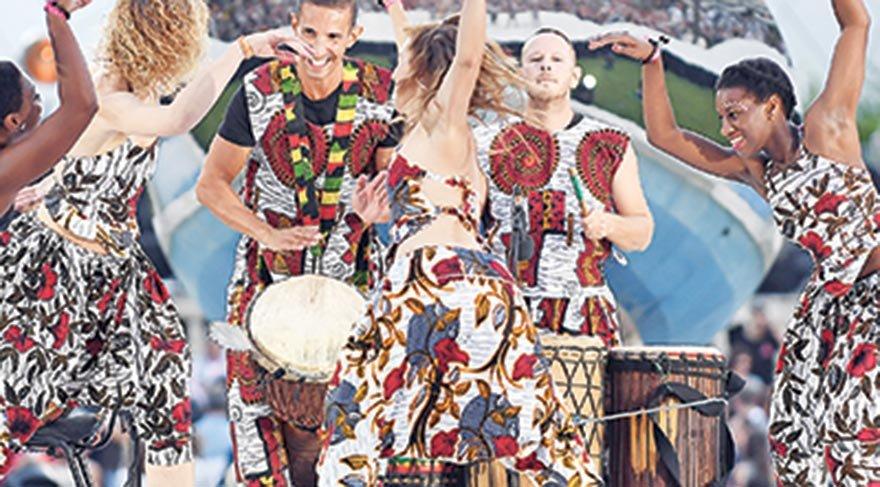 Monte Carlo'da ilk dans festivali