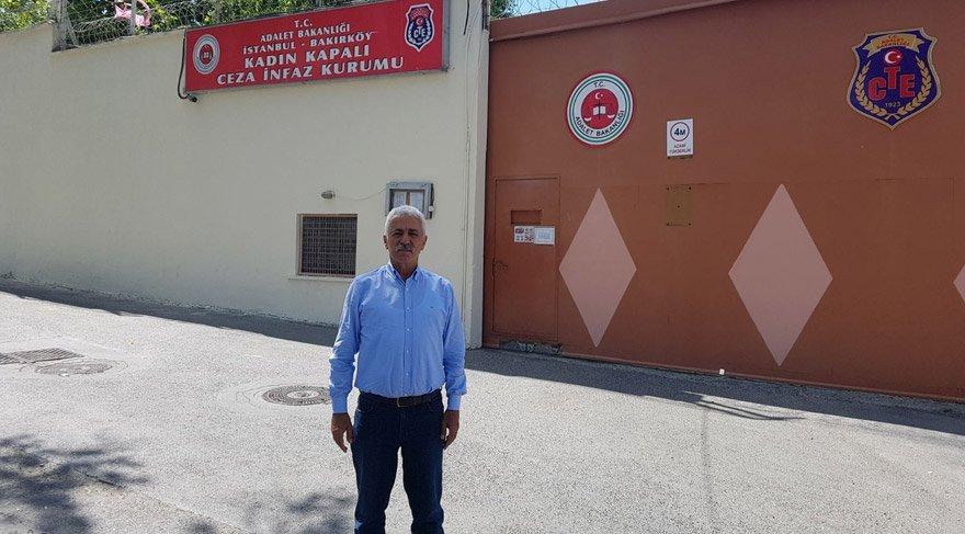 CHP'li Özdiş, Bakırköy Cezaevi'ne giderek arkadaşımız Mediha Olgun'la görüştü.