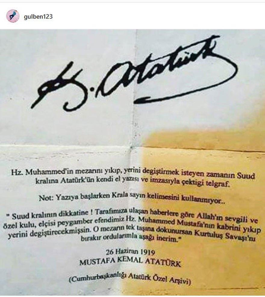 İşte Gülben Ergen'in sosyal medyada paylaştığı o mektup...