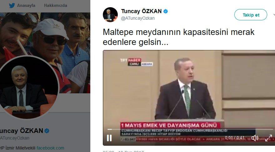 """""""Maltepe meydanının kapasitesini merak edenlere gelsin…"""" Erdoğan açıkladı"""