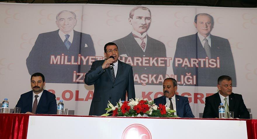 Necat Karataş İzmir'de MHP il başkanı seçildi
