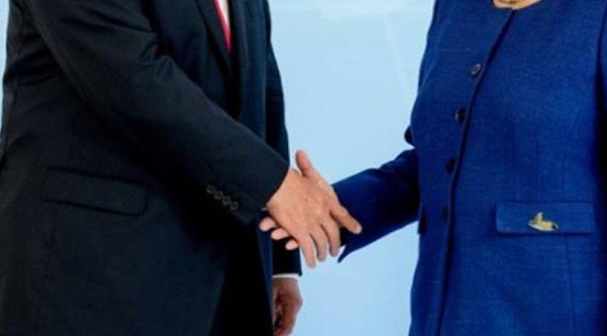 Trump ve Merkel günlerce konuşulmuştu! O 'kriz' böyle aşıldı