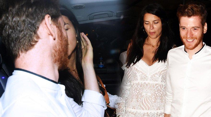 Metin Hara ve Adriana Lima'ya bomba soru! Dudaklarını sevgilisinden alamadı