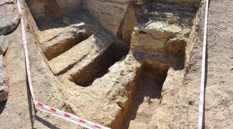 Uşak'taki Roma dönemine ait mezarlıklar ortaya çıktı