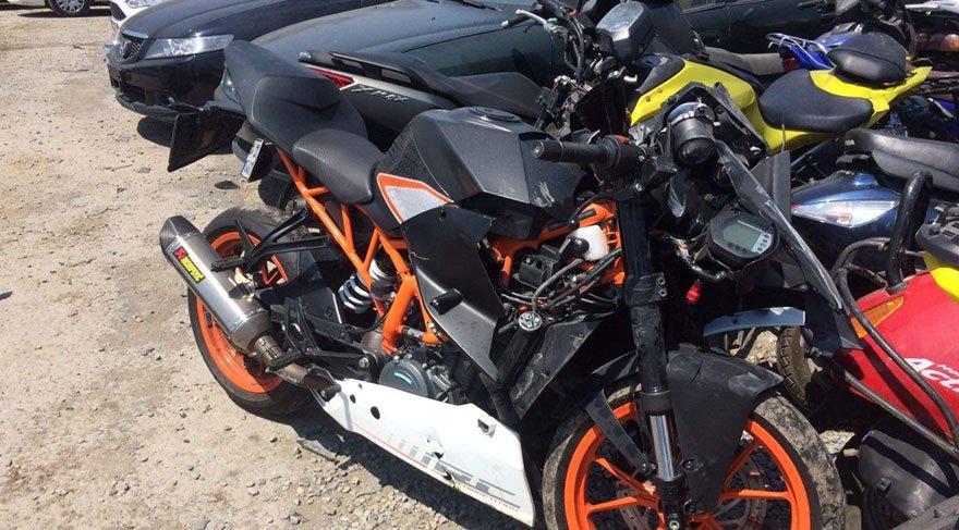 İşte Barkın Bayoğlu'nun kaza yaptığı motorsiklet