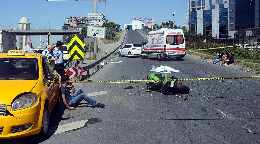 İstanbul'da feci kaza… Hatalı şerit değiştirme ölüm getirdi