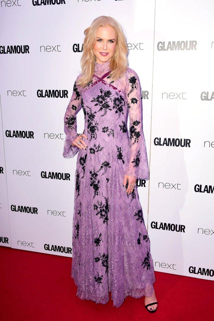Nicole Kidman ERDEM marka kıyafetle.
