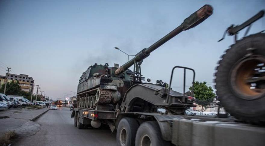 Afrin sınırında hareketlilik: Fırtına obüsü gönderildi