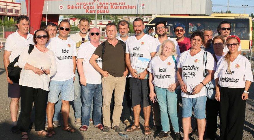 İzmir Gazeteciler Cemiyeti'nden Gökmen'e destek ziyareti