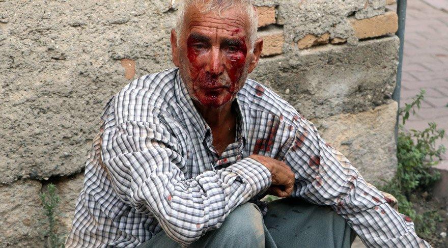 Karpuz bekçisini öldüresiye dövüp parasını gasp ettiler