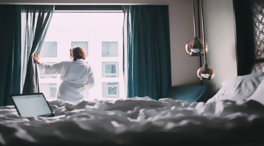 Şişli'de otel penceresinde ilişkiye giren çift herkesi şaşırttı