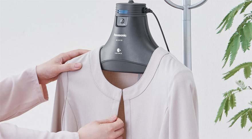 Teknoloji dolaba girdi: Panasonic akıllı askı tanıtıldı