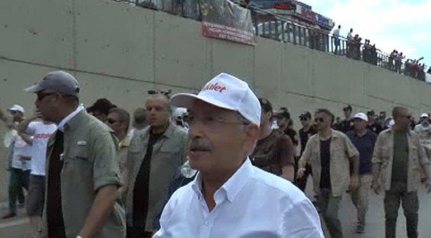 CHP Lideri Kemal Kılıçdaroğlu'na protesto