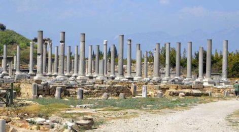 Dünya ünlü antik kent Perge sürgün yeri mi oldu?