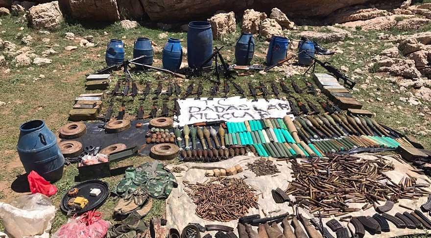 Siirt Valiliği: Terör örgütünün Herekol Dağı yapılanması çökertildi