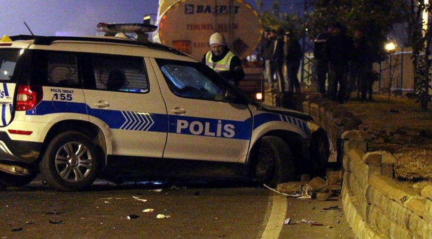 Şırnak'ta iki polis aracı çarpıştı: 1 şehit, 1 yaralı