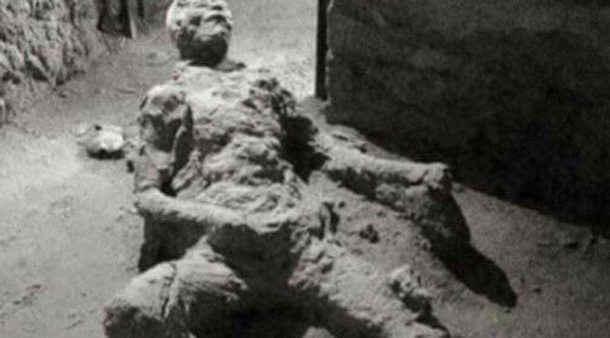 Pompeii kurbanı sosyal medyanın gündeminde