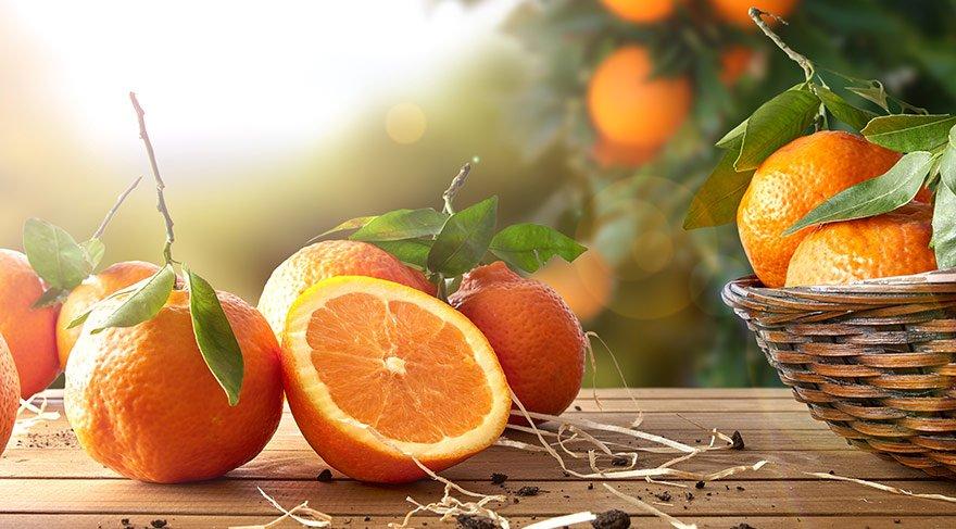 Portakal yemek, bunama riskini azaltıyor