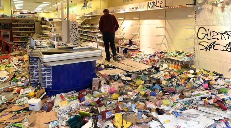 Hamburg'da G20 etkisi: Kaos, yağma ve yıkım