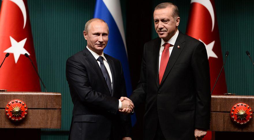 Putin'den Erdoğan'a övgü dolu sözler