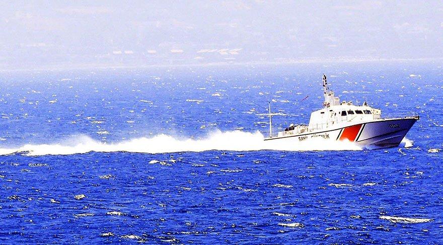 Ege'de Türk Sahil Güvenlik botlarının devriye nöbeti arttırıldı
