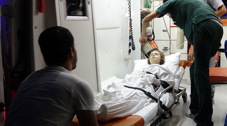 Magandaların hedefi olan genç kız, ağır yaralandı
