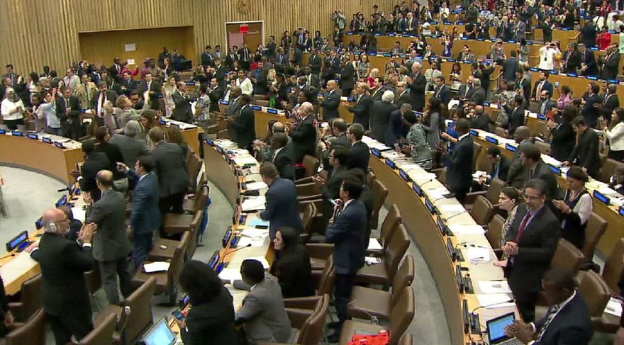 'Nükleer Silahların Yasaklanması Anlaşması' BM'de kabul edildi