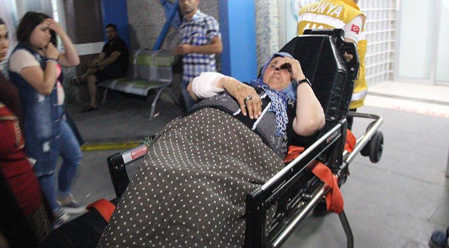 Suriyeli kadın evinin önünde vuruldu