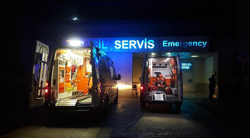 Samsun'da silahlı saldırı: 2 ölü, 1 ağır yaralı