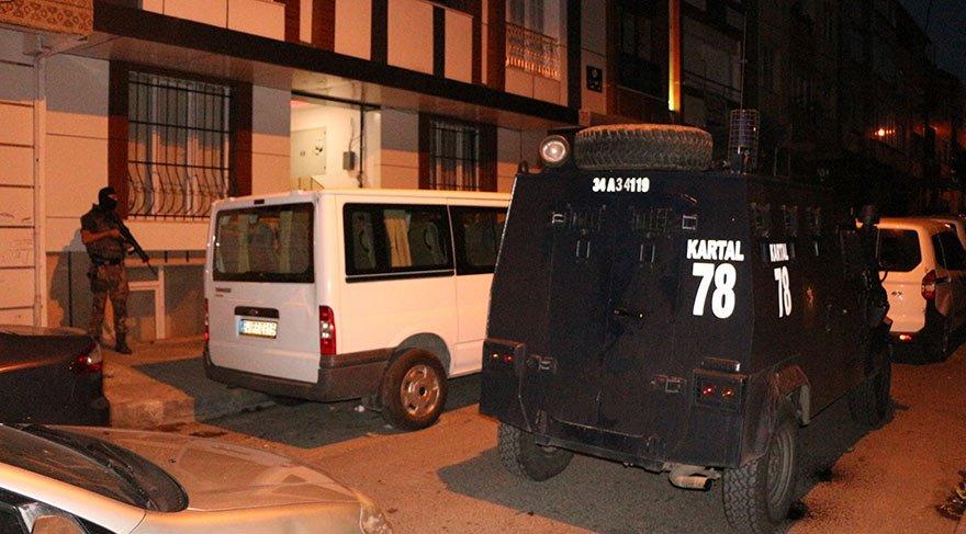 İstanbul'da 'torbacılara' Şafak Operasyonu