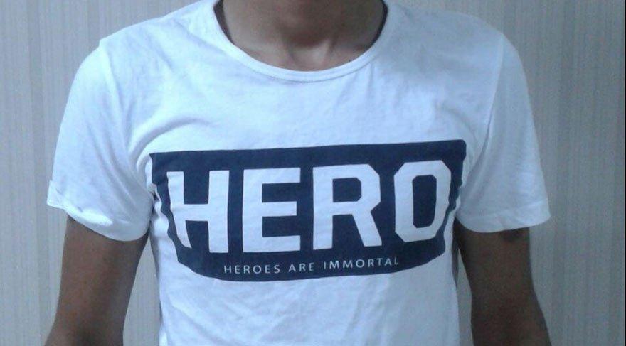 'Hero' tişörtüne Siirt'te 2 gözaltı