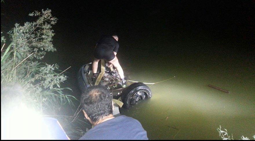 Otomobil nehre uçtu! Aynı aileden 3 kişi hayatını kaybetti