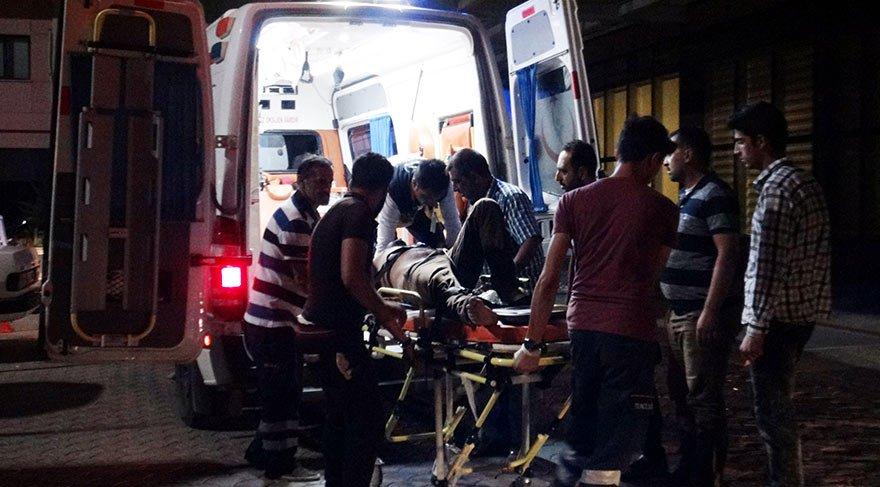 PYD, Azez'e havan mermisi attı: 15 yaralı
