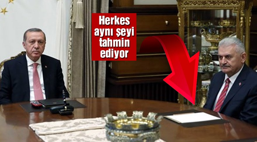 Başbakan Ak Saray'da… Görüşme başladı