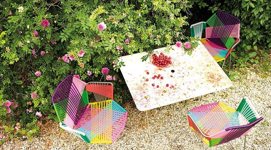 Konforlu bahçelere eğlenceli dokunuşlar