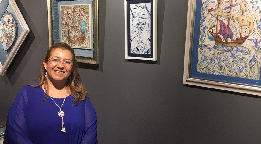 Almula İdil Kılıç'ın son sergisi sanatseverlerle buluştu