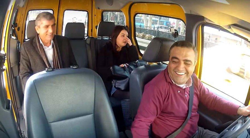 Tahir Elçi ve Sezgin Tanrıkulu'nun Meclis Taksi görüntüler ortaya çıktı