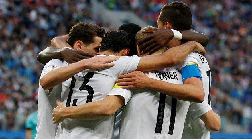 Almanya Şili maç özeti: Panzer Konfederasyonlar Kupası'nı kaldırdı!