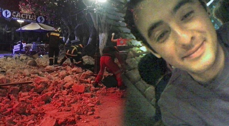 FOTO:DHA/ Sinan Kurtoğlu Kos'ta yaşamını yitirdi.